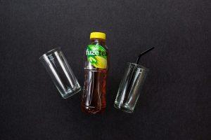 Черный чай Fuze Tea Cо вкусом лимон-лемонграсс/ 0.5 л.