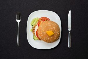 Намасте бургер с курицей
