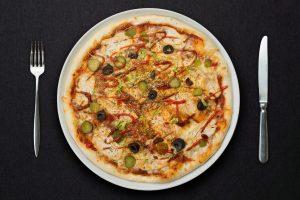 Пицца Инь и Янь